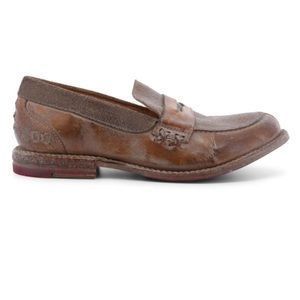 Bed Stu | NWOT Reina Brown Leather Penny Loafer